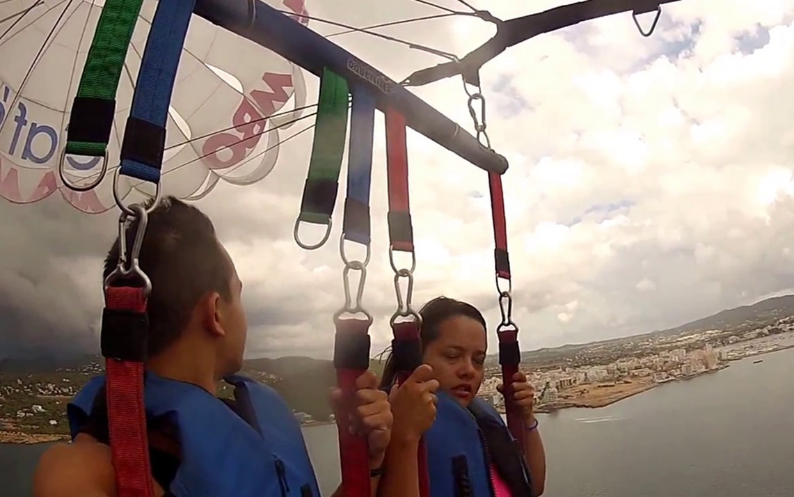 Parasailing Accident, The Missing Video | The Ibizan