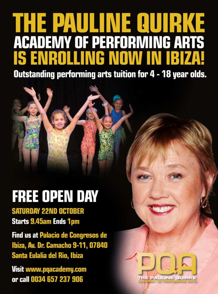 The Pauline Quirke Academy of Performing Arts is opening in Ibiza!