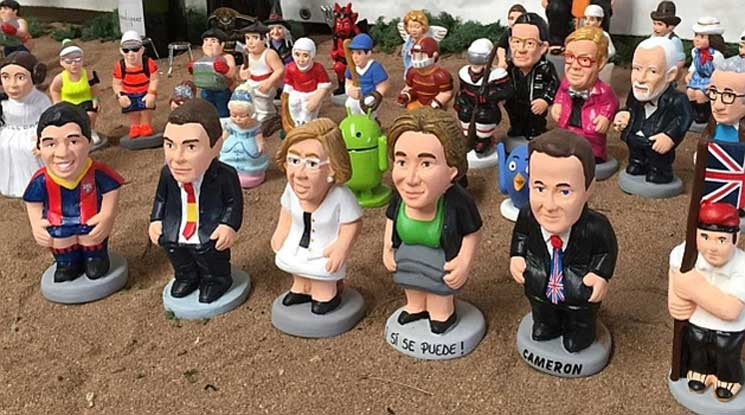 El Caganer Is A Figurine Depicted In The Act Of Defecation Who Mainstay Any Self Respecting Nativity Throughout Catalonia And Neighbouring