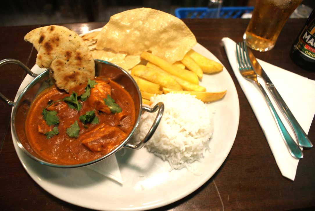 Flaherty's Curry Plate - Just Add Sports
