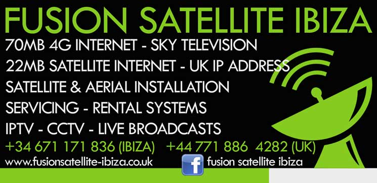 Business Feature: Fusion Satellite & Internet, Reaching The Parts Of Ibiza Others Can't.