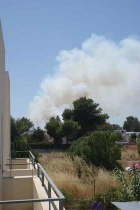 Ibiza Fire in Port Des Torrent - Irresponsible UK Press Go Nuts