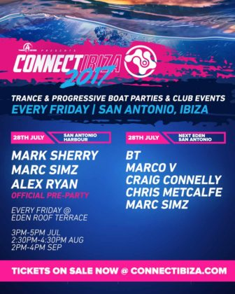 Ibiza Trance: Connect 2017: Boat Party Days & Club Nights: