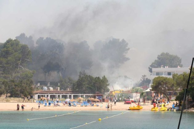 Suspicious Circumstances Surround Port Des Torrent Fire