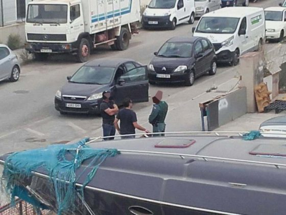 Hell's Angel on the Run after Armed Guardia Civil Drugs Raid