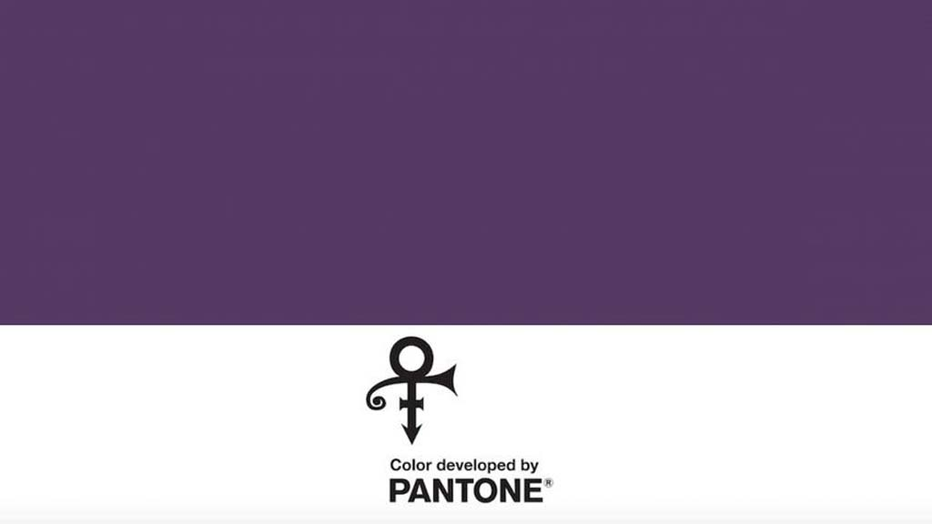 Pantone Name Purple Love Symbol 2 In Honour Of Prince The Ibizan