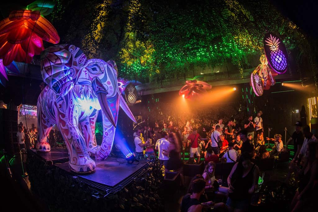 Get Into The Jungle, Tropical Wonderland Returns for Eden Saturdays 2018