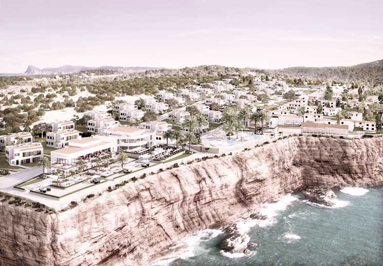 Seven Pines Resort Ibiza Opening 2018 in Cala Conta