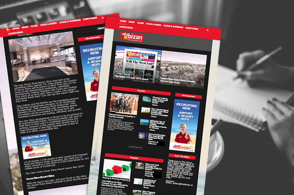 Ibiza Banner Advertising - Online Adverts with Flexibility, Control & Targeting
