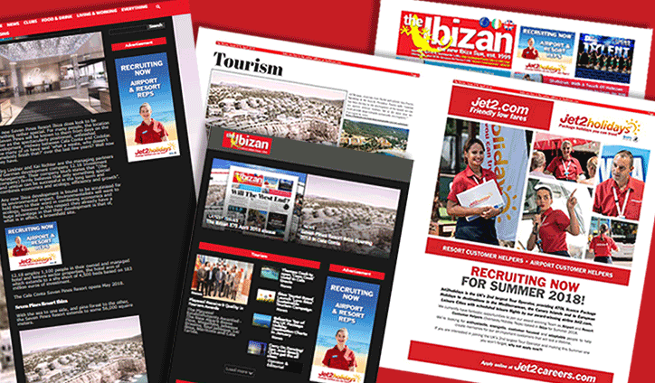 jet2 ibiza recruitment advertising case study