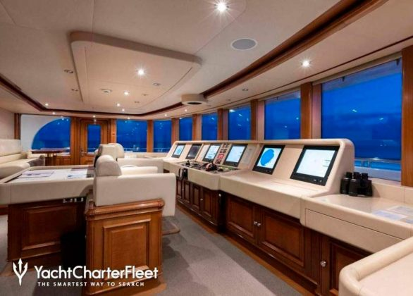 Titania Mega-Yacht For Rent, A Bargain At 630,000€ Per Week