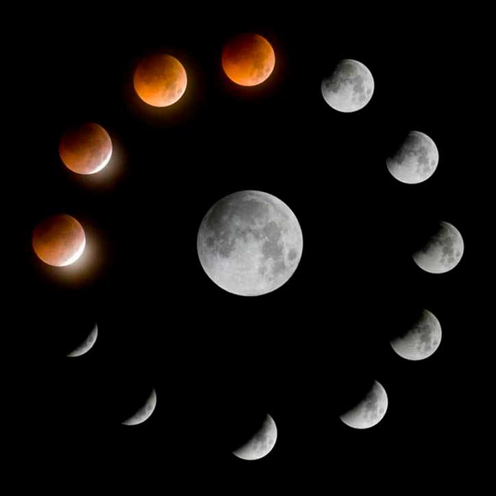 Friday 27th July - Super Blood Moon is Longest Lunar Eclipse