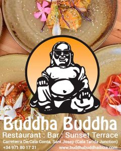 Buddha Buddha, Restaurant, Terrace & Bar in Cala Conte