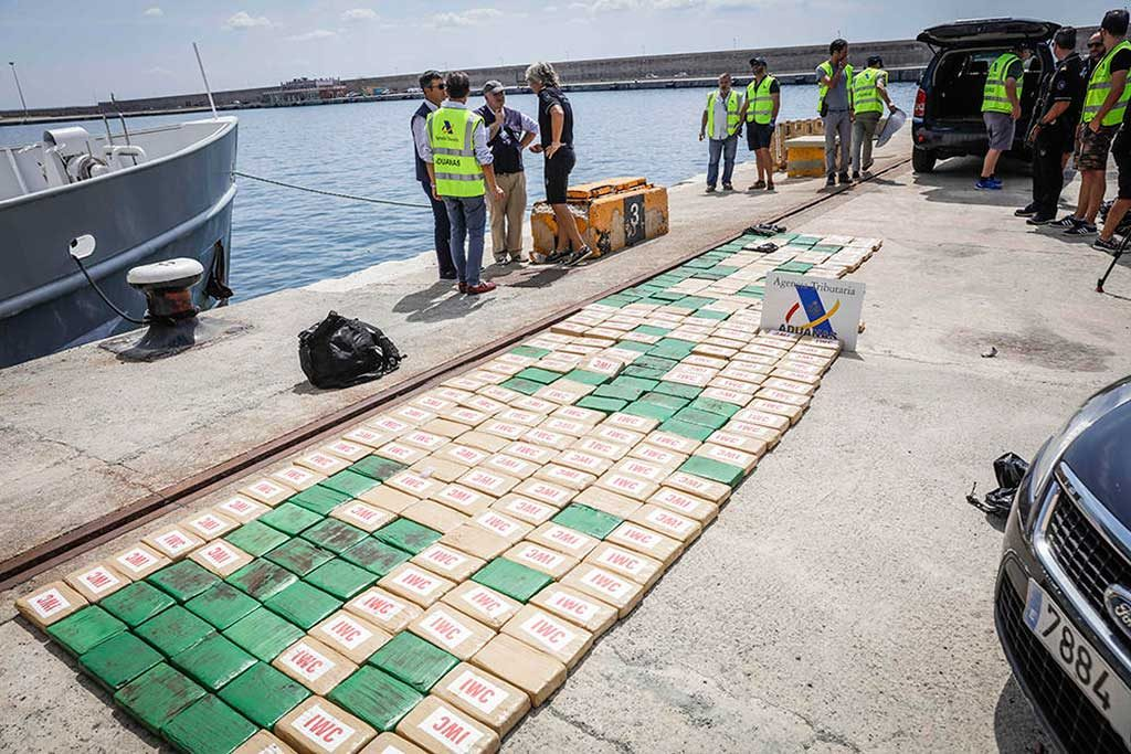 300kg of Cocaine Worth 18€ Million Seized off Ibiza