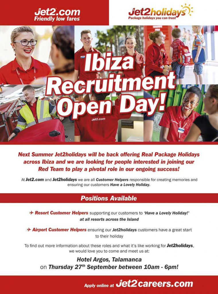 jet 2 recruitment poster