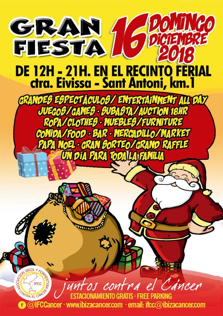 Ibiza Y Formentera Contra El Cáncer Christmas Fair & Newsletter