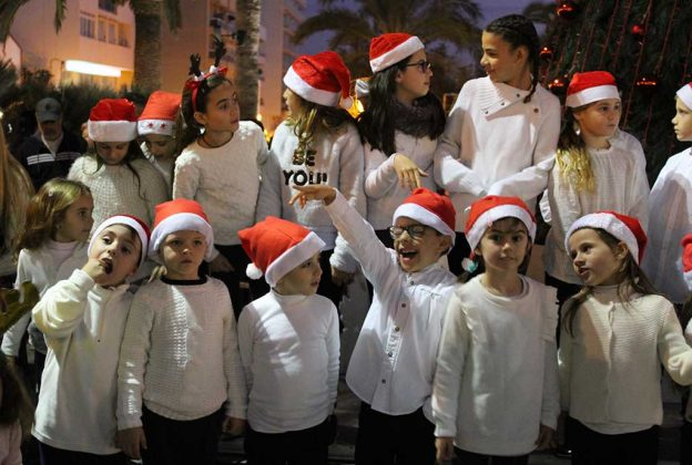 Ibiza Christmas: Santa Eulalia Christmas Tree & Lights Gallery