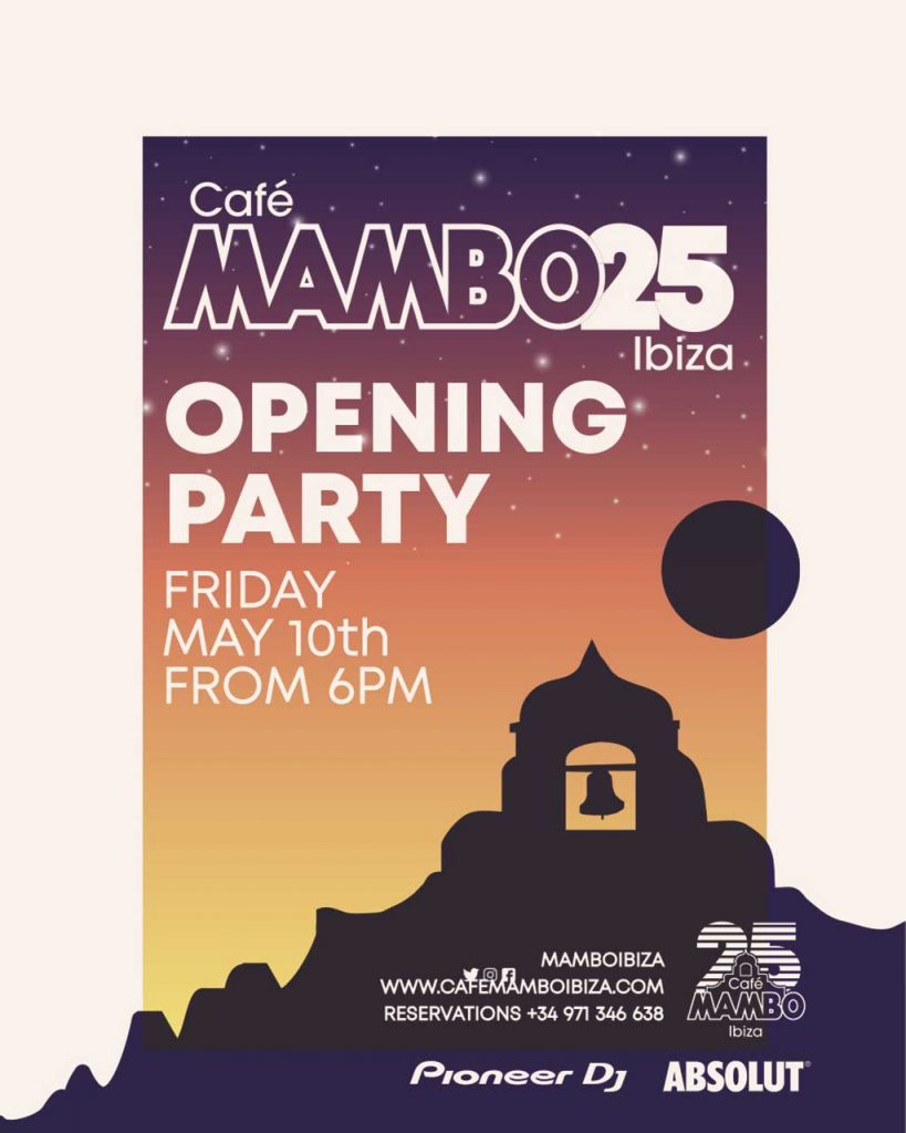 Café Mambo; 25 Years Young