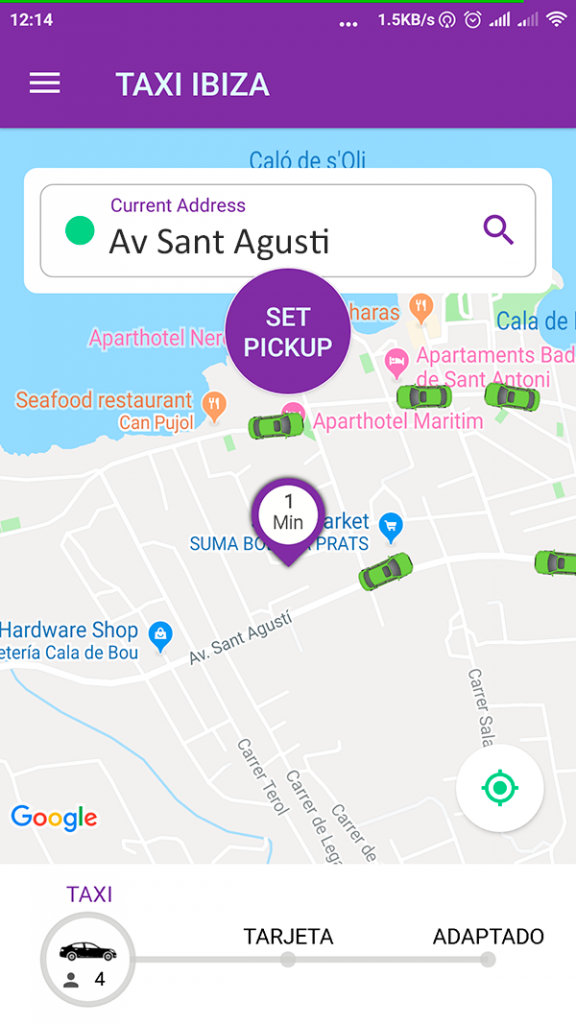 Ibiza Taxi App, Must Have Tech for 2019
