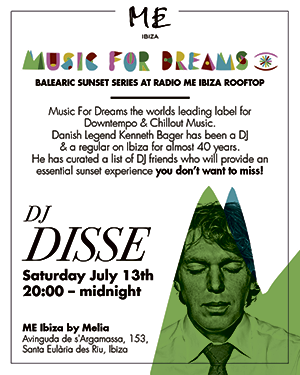 Kenneth Bager Interview • Music For Dreams Sunset Sessions @ ME Santa Eulalia