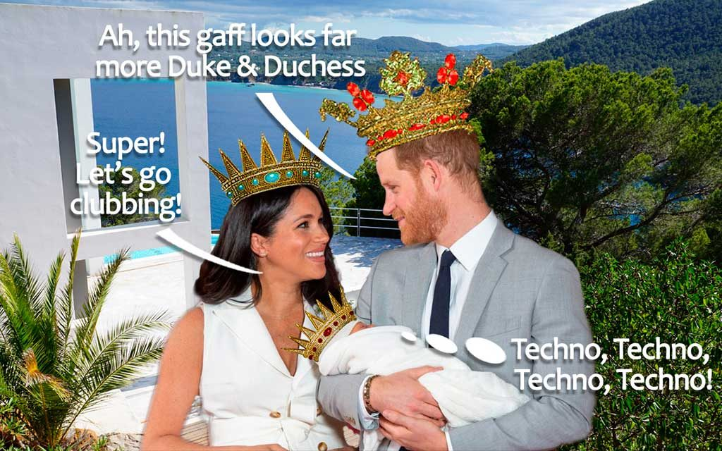 Royal Exclusive #2: Duke Harry & Duchess Meghan in Ibiza, Candid Photo Diary