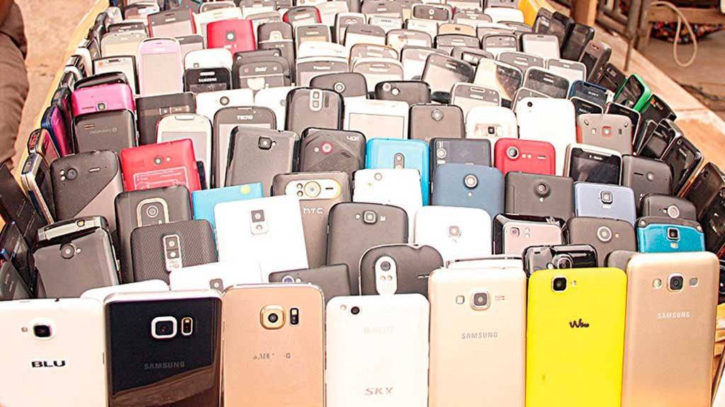 Stolen phones will find their way to street markets in Eastern Europe, Africa and Asia