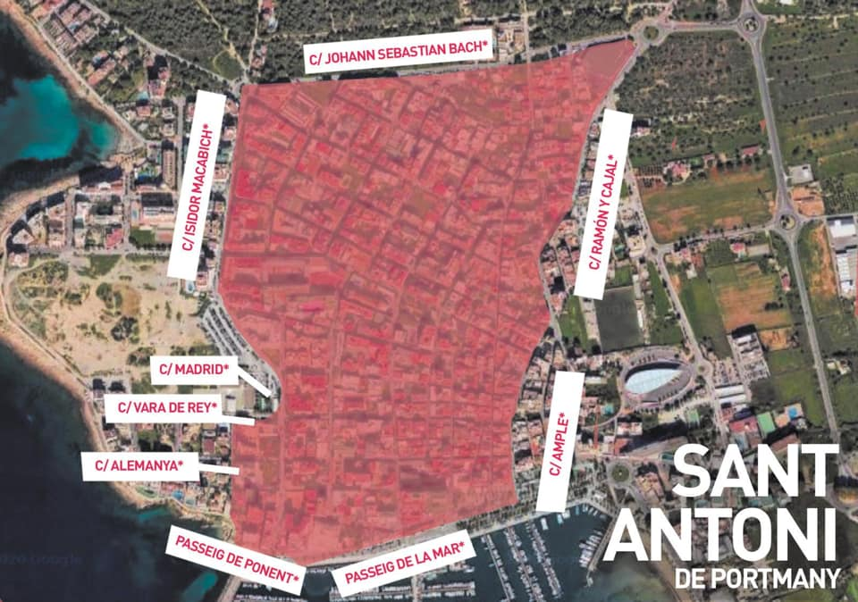 Tourist Policy U-Turn Shambles over San An & Ibiza Town Local Lockdowns